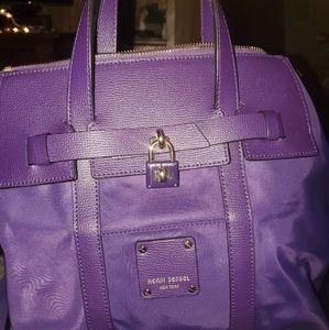 Jetsetter Mini Convertible Backpack, Purple